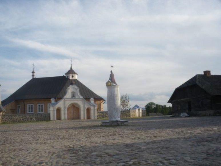 Bus šventinama Lietuvos liaudies buities muziejaus miestelio bažnyčia