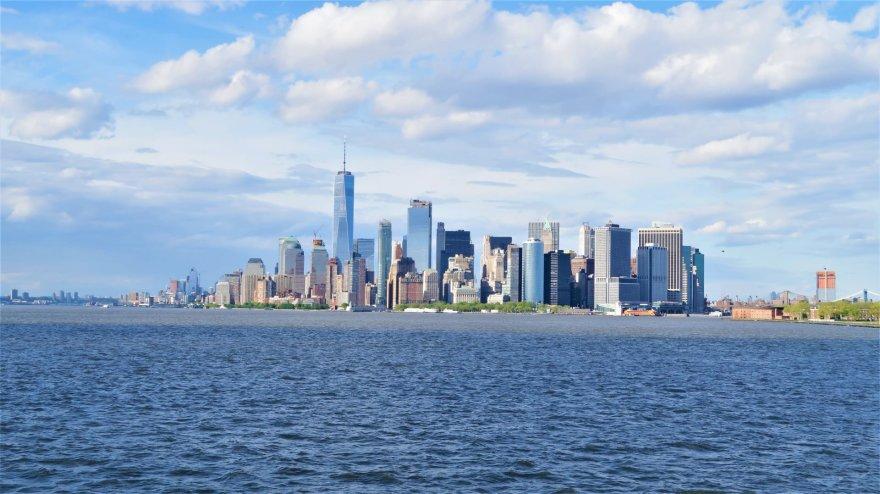 Asmeninė nuotr./Aušrinės ir Gedimino kelionės pradžia ir pirmoji stotelė – Niujorkas