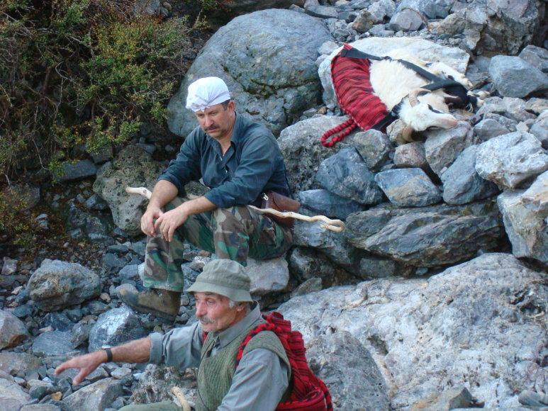 George Mazonakis ir Daphne Manoussaki nuotr./Paskutinieji mohikanai – laisvieji Kretos piemenys