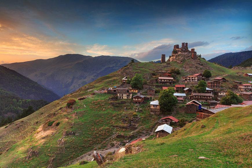 Shutterstock nuotr./Tušetijos nacionalinis parkas
