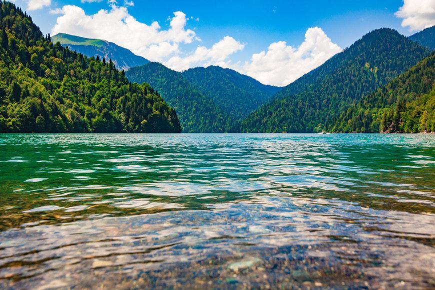 Shutterstock nuotr./Ricos ežeras