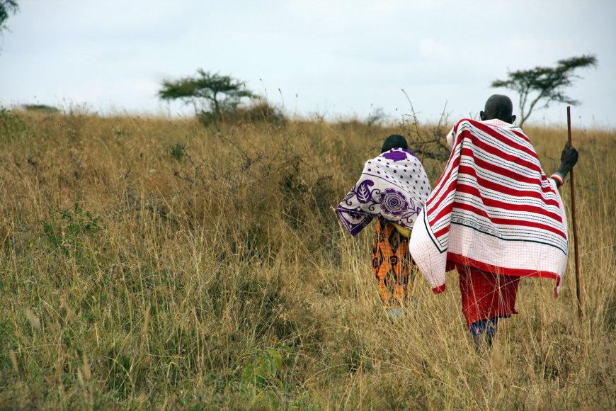 Asmeninio albumo nuotr. /Masajų genties žmonės