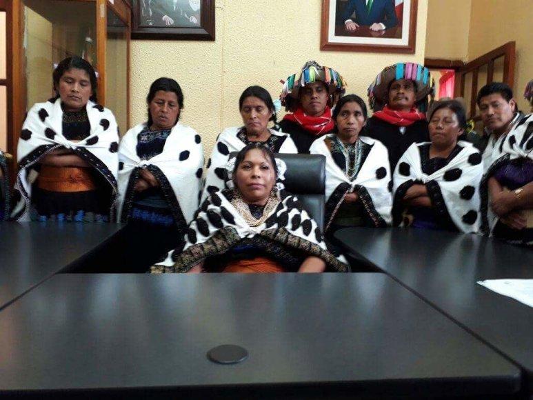 Asmeninė nuotr./Ginti vietinių moterų teises Meksikoje padeda įkurtos organizacijos