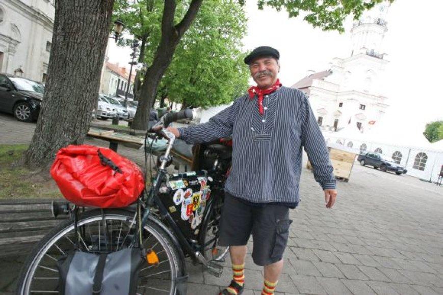 Turistas iš Vokietijos