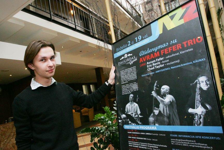 """Festivalio """"Daugirdas gyvai 2011"""" koordinatorius J.Grickevičius žada solidžius koncertus."""