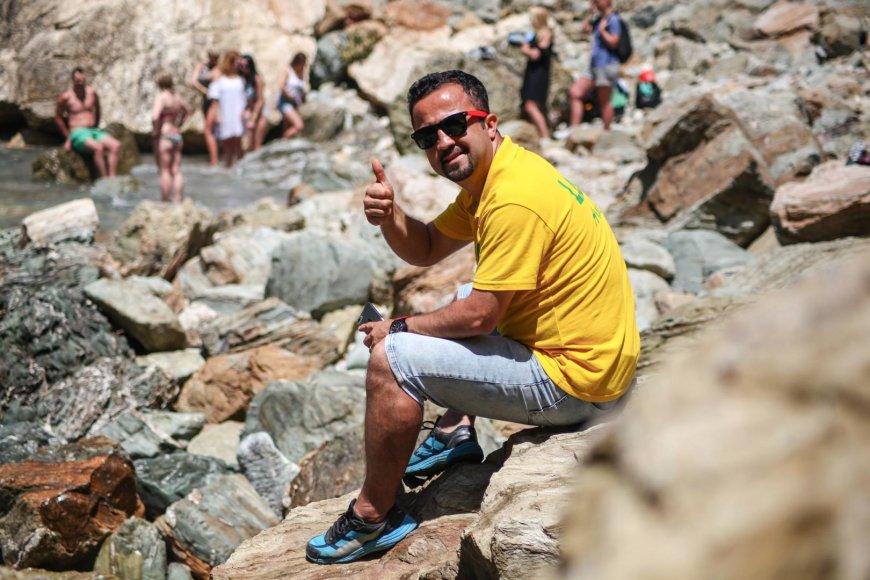 Asmeninės nuotr./Prieš pradėdamas dirbti turizmo srityje M.Erkut buvo profesionalus futbolo žaidėjas