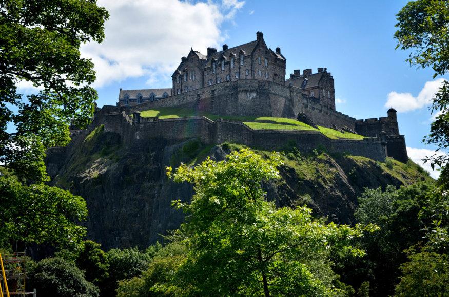 Beatričės Bankauskaitės nuotr./Edinburgas tikra pilių karalystė