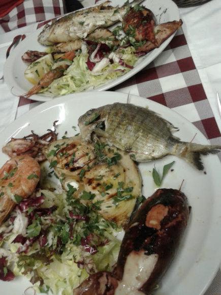 Asmeninės nuotr./Ant stalo – žuvis