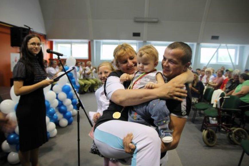 Kauno rajono neįgaliųjų šventės akimirka