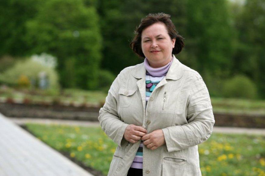 Prof. drProf. dr. Vida Mildažienė neabejojo Botanikos sodo potencialu.