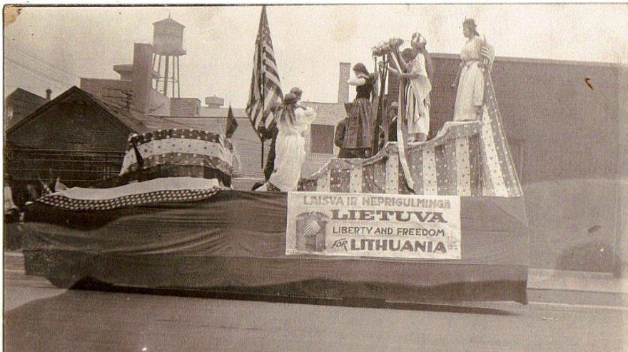 Archyvo nuotr./Lietuvos nepriklausomybės protestas JAV