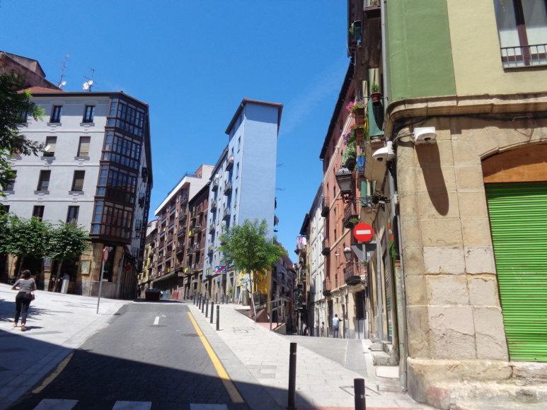 Gabijos Lebednykaitės nuotr./Bilbao – uostamiestis Ispanijoje