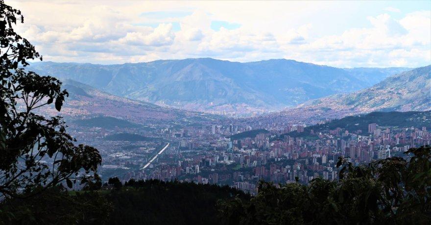 Asmeninė nuotr./Nuostabi Medeljino panorama, apsupta kalnų