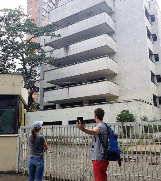 """Asmeninė nuotr./Vienas iš Pablo Escobaro """"namukų"""" Medeljine"""
