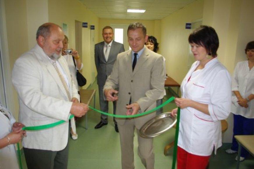 Kabinetas atidarytas vicemero S.Buškevičiaus iniciatyva.