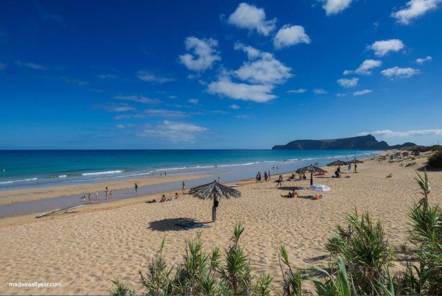Shutterstock nuotr./Porto Santo sala –  beveik visa jos pakrantė yra geltono smėlio juosta