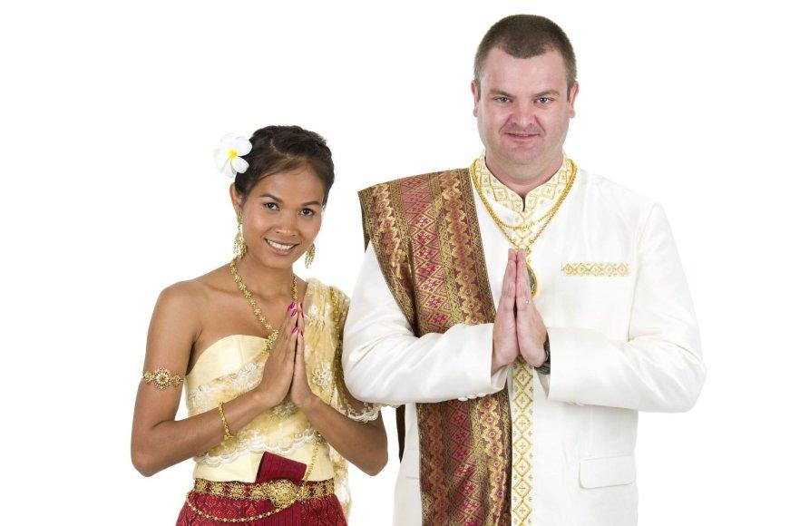 123rf.com nuotr./Užsieniečius žavi ne tik tajų išvaizda, bet ir nuolankumas