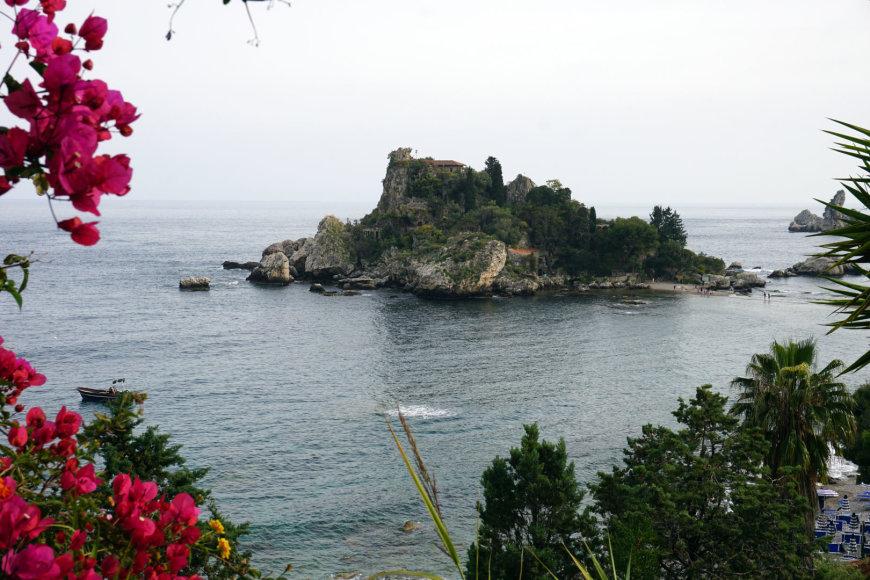 "Asmeninės nuotr./""Isola Bella"" sala"
