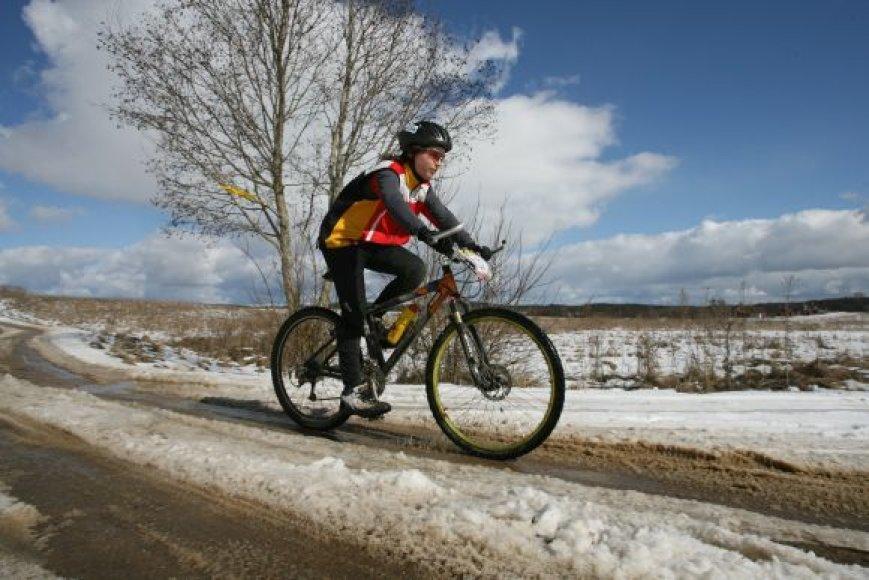 Dviračių nuomos punktai Vilniuje veiktų tik šiltuoju metų laiku. Kol kas neaišku, kur dviračiai butų laikomi žiemą.