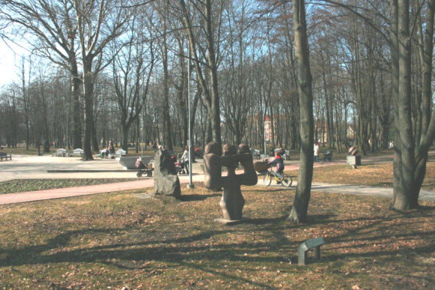 Skulptūrų parke savaitgalį bus švenčiamas pavasaris.