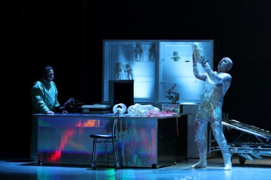 Klaipėdos muzikinis teatras sostinėje pristatė kelis spektaklius.