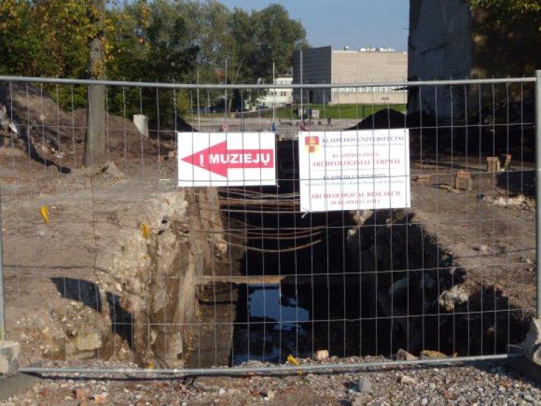 Piliavietės teritorijoje kasinėjimai prasidėjo nuo liepos mėnesio.