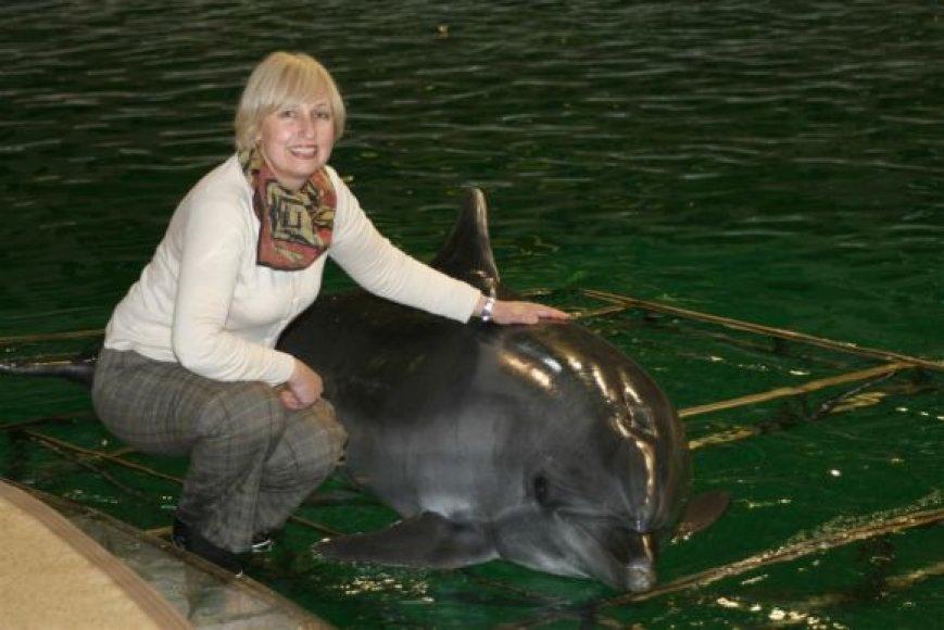 O.Žalienė Lietuvos jūrų muziejuje dirba nuo 1979 metų.