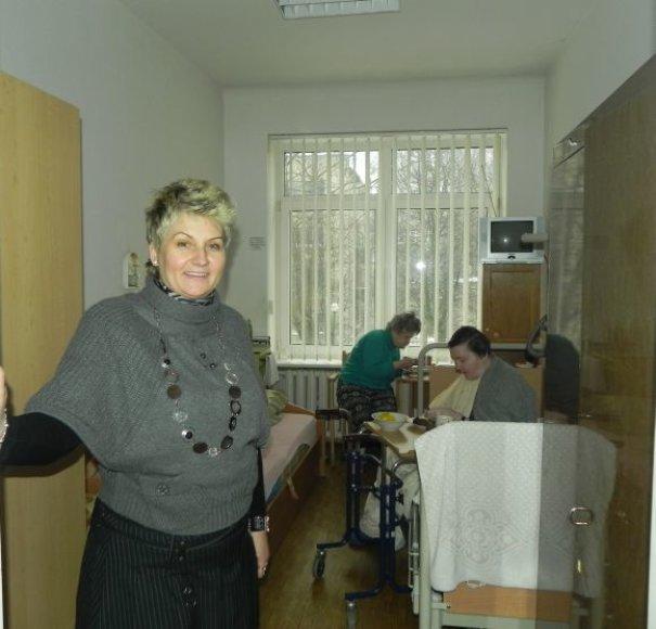 Anot R.Senkienės, lėšų iš savivaldybės biudžeto Klaipėdos senelių globos namams reikėtų bent dukart daugiau, nei yra skiriama.