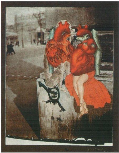 J.Preverto koliažas apie meilužius.