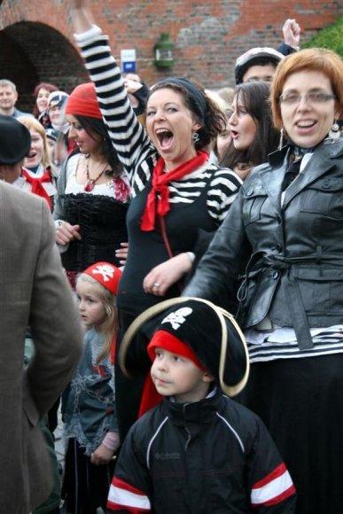 Jūrų muziejus kviečia į piratišką šventę.