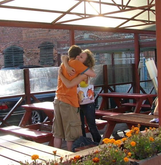 Apsikabinimo akcija Klaipėdoje vyko pernai bei 2009 metais.