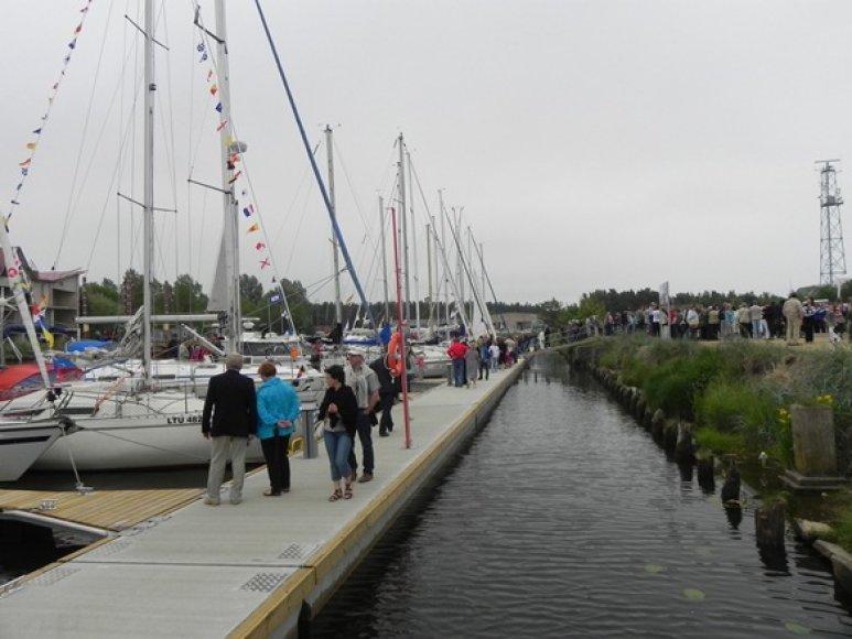 Šventosios mažųjų laivų uostelis jau atidarytas.