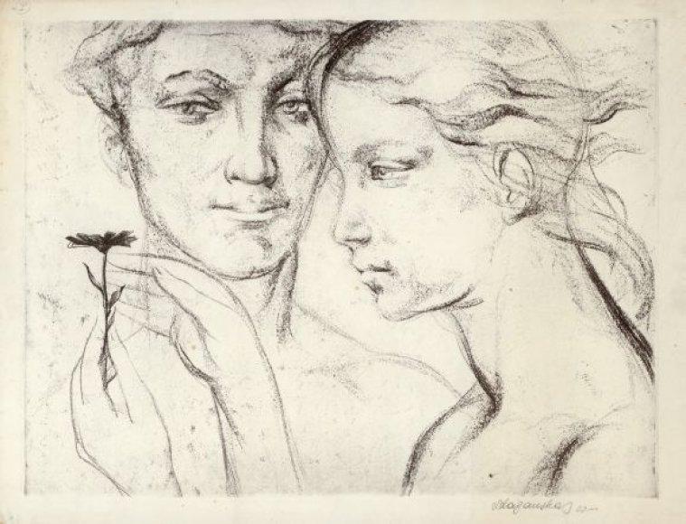 Vienas iš Leono Lagausko kūrinių.