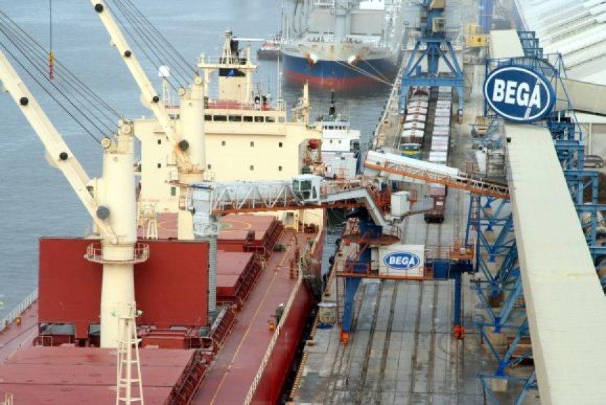 Spalis Klaipėdos uostui buvo itin sėkmingas.