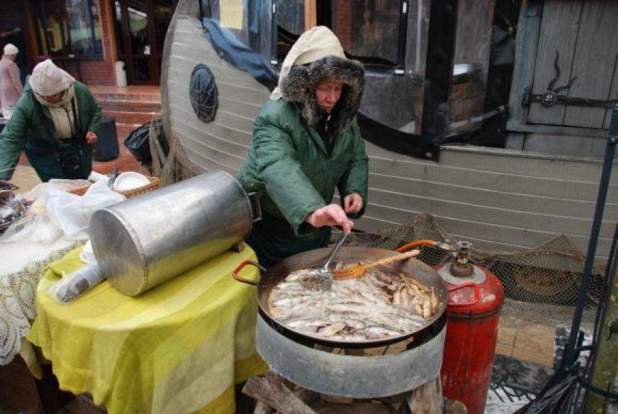 Vasario 18-ąją Palanga kvies į tradicinę šventę, kvepiančią jūrų agurkais vadinamomis stintomis.