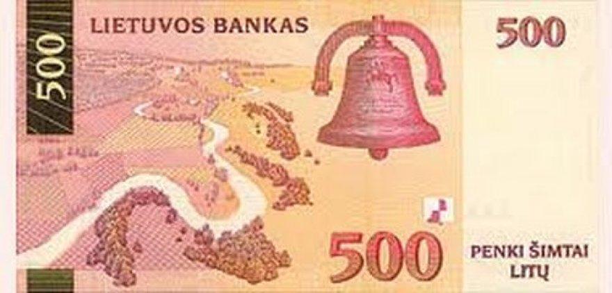 Vairuotojas patruliams bandė įbrukti 500 Lt banknotą.