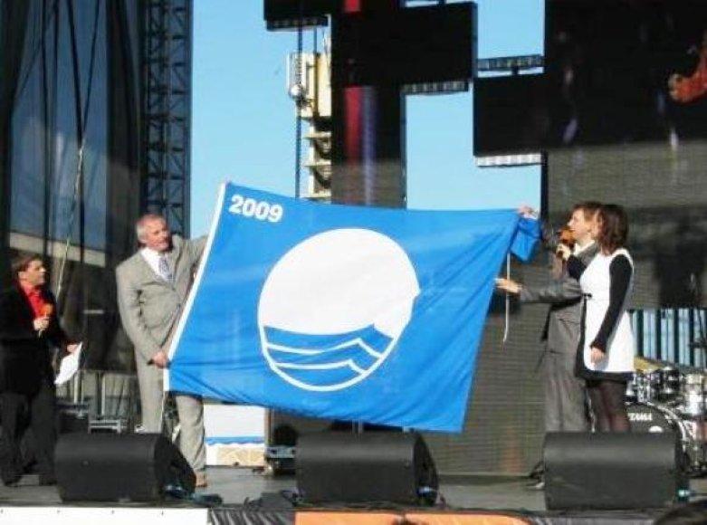 Mėlynoji vėliava.