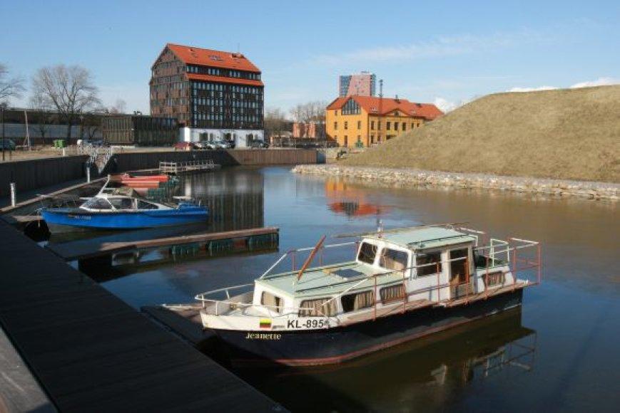 Klaipėdos Pilies uostas