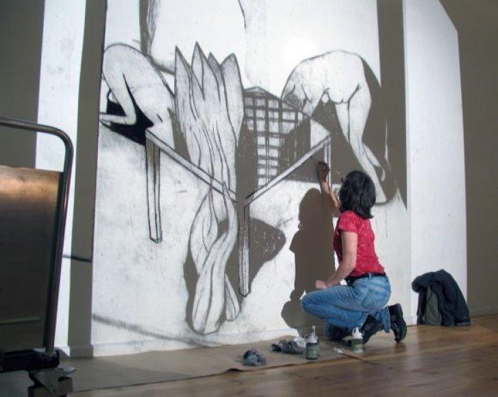 Ingela Svensson savo darbus pristatys Klaipėdoje.