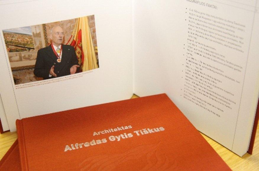 Išleista nauja knyga apie žymų Klaipėdos architektą A.G.Tiškų.