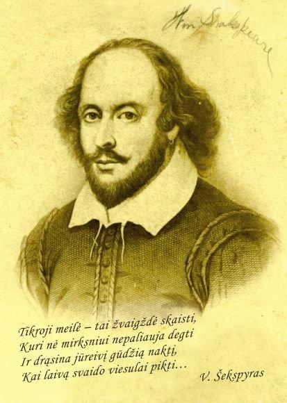Klaipėdoje Valentino diena bus švenčiama pagal V.Šekspyrą.