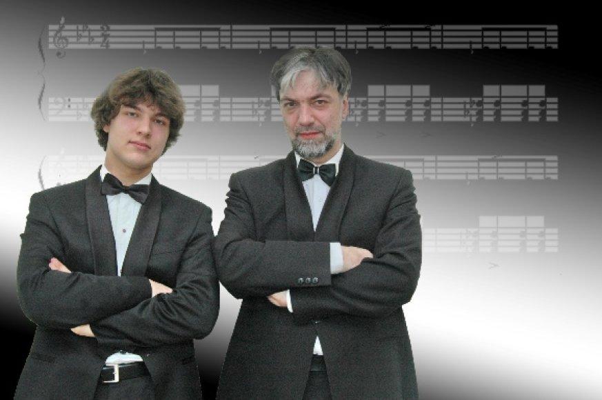 Antradienį Koncertų salėje laukiama Petro ir Luko Geniušų koncerto.