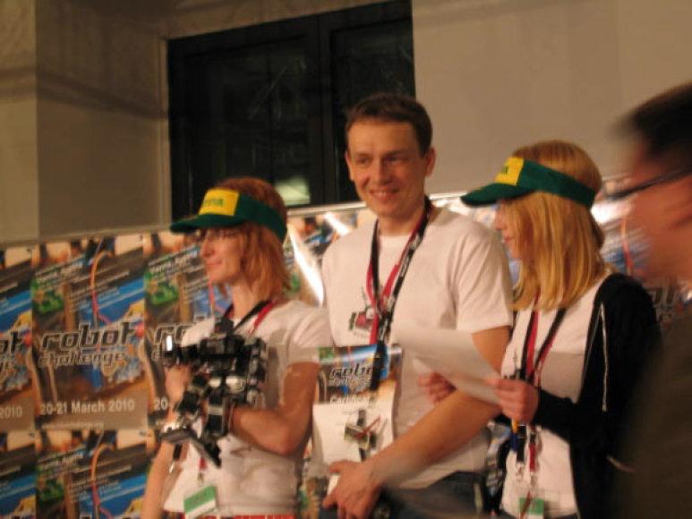 Klaipėdiečiai robotų konstruktoriai iš čempionato grįžo su medaliais.
