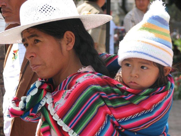 Lieuvaitė savanoriškai talkino Bolivijoje, kur mokė skurstančius vaikus.