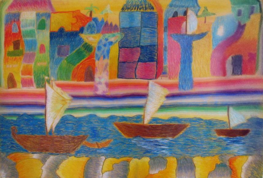 Dvylikamečio Daivaro Lesauskio darbas