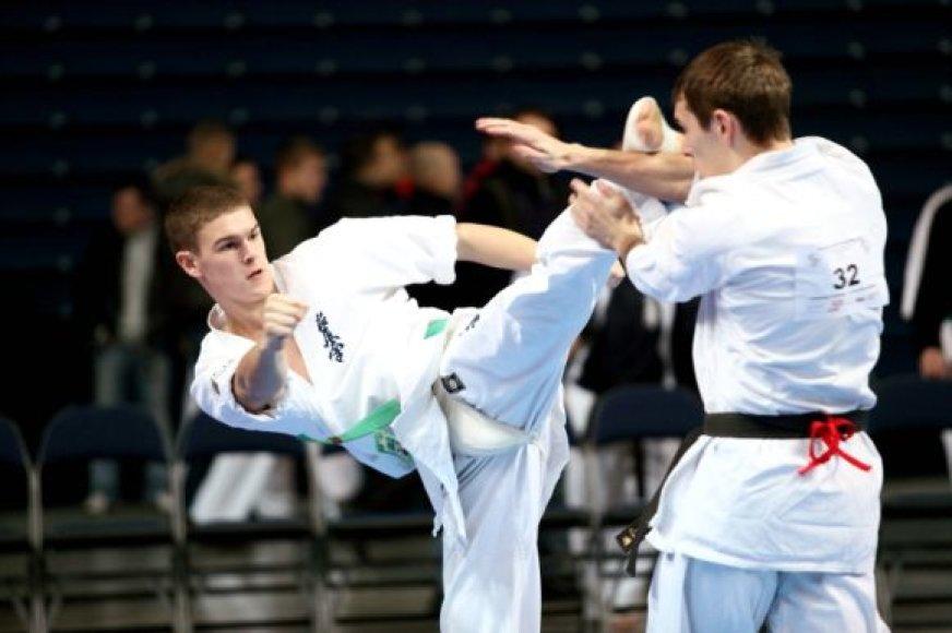 Tautvydas Sniaukas puikiai pasirodė čempionate Šiauliuose.