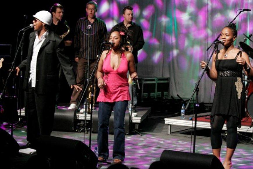 """Britai """"Incognito"""" prieš kelerius metus pakerėjo Kauno džiazo festivalio gerbėjus."""