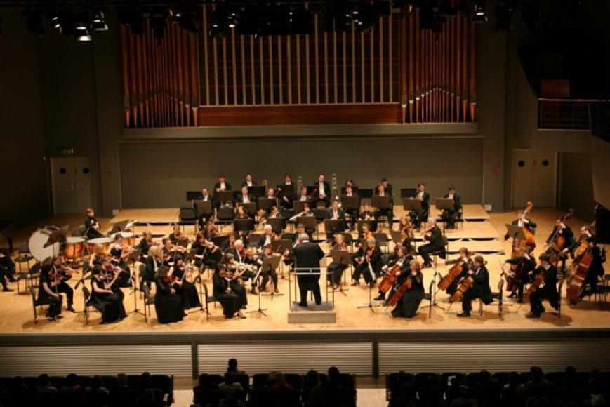 Klaipėdoje penktadienį koncertuos aktyviai gastroliuojantis Sankt Peterburgo orkestras.
