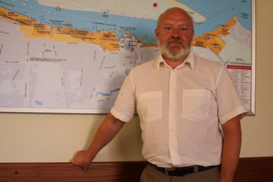 Eugenijus Gentvilas rudenį prie jūros - dažnesnis svečias, nei vasarą.