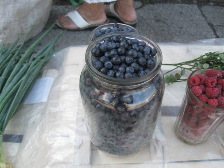Mėlynių litrą uostamiesčio turgavietėse galima įsigyti už 7–10 litų.